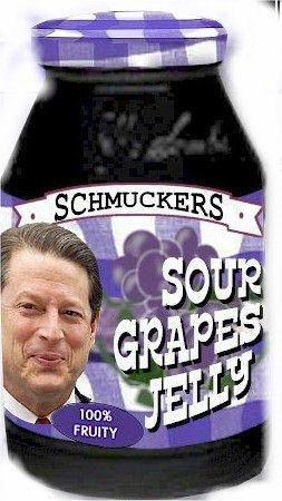 al gore sour grapes